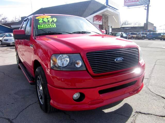 2007 Ford F-150 THE HOME OF THE 299 TOTAL DOWN PAYMENT Visit Parker Auto Sales online at wwwparke