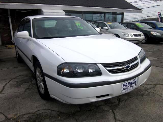 2000 Chevrolet Impala THE HOME OF THE 299 TOTAL DOWN PAYMENT Visit Parker Auto Sales online at www