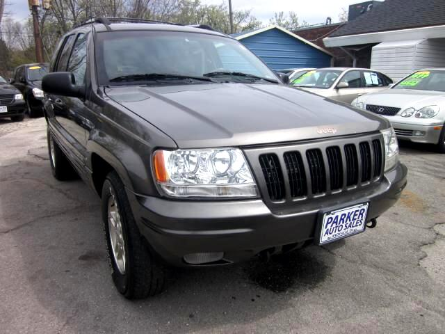 1999 Jeep Grand Cherokee THE HOME OF THE 299 TOTAL DOWN PAYMENT Visit Parker Auto Sales online at