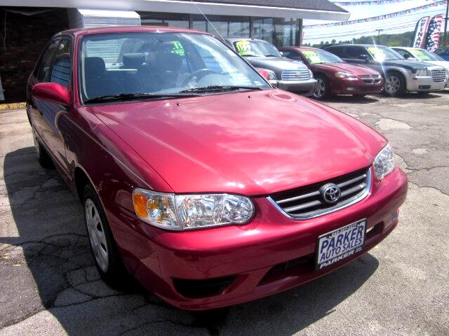 2001 Toyota Corolla THE HOME OF THE 299 TOTAL DOWN PAYMENT Visit Parker Auto Sales online at wwwp