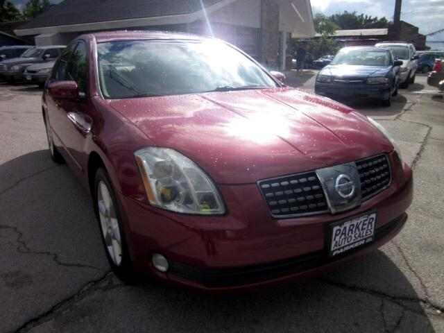 2005 Nissan Maxima THE HOME OF THE 299 TOTAL DOWN PAYMENT Visit Parker Auto Sales online at wwwpa
