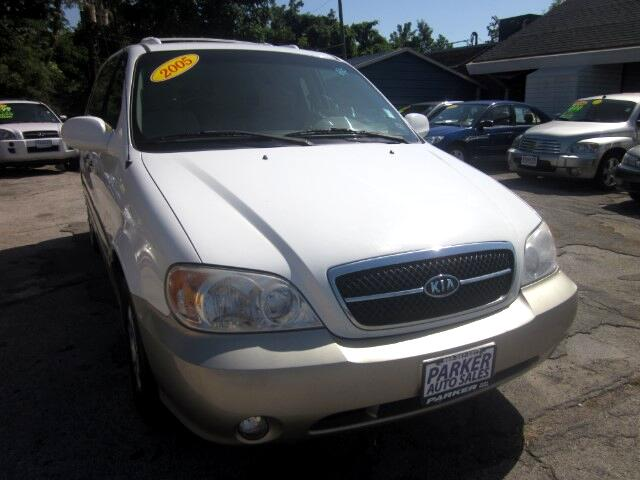 2005 Kia Sedona THE HOME OF THE 299 TOTAL DOWN PAYMENT Visit Parker Auto Sales online at wwwparke