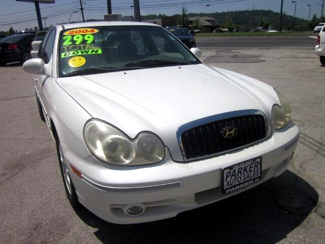 2004 Hyundai Sonata THE HOME OF THE 299 TOTAL DOWN PAYMENT Visit Parker Auto Sales online at wwwp