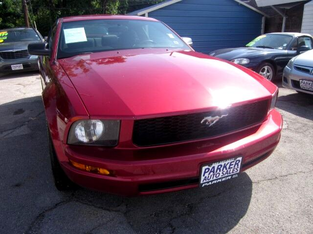 2006 Ford Mustang THE HOME OF THE 299 TOTAL DOWN PAYMENT Visit Parker Auto Sales online at wwwpar