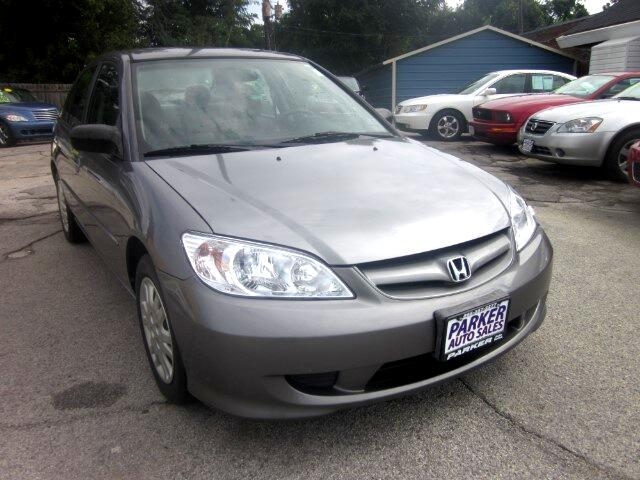 2004 Honda Civic THE HOME OF THE 299 TOTAL DOWN PAYMENT Visit Parker Auto Sales online at wwwpark