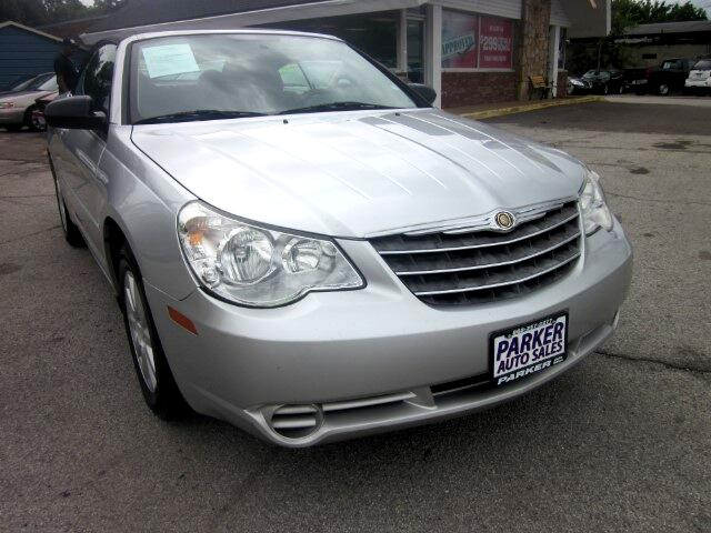 2008 Chrysler Sebring THE HOME OF THE 299 TOTAL DOWN PAYMENT Visit Parker Auto Sales online at www