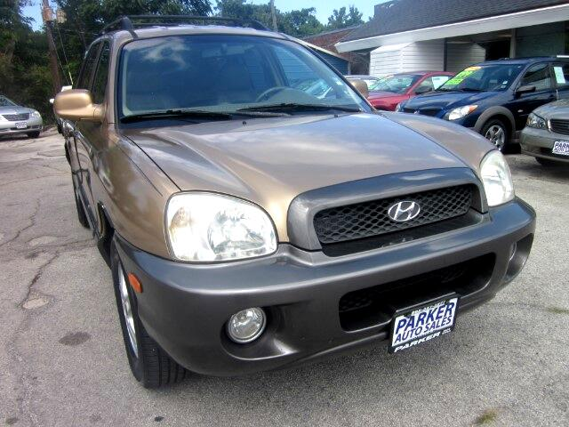 2001 Hyundai Santa Fe THE HOME OF THE 299 TOTAL DOWN PAYMENT Visit Parker Auto Sales online at www