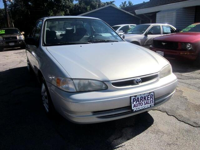 2000 Toyota Corolla THE HOME OF THE 299 TOTAL DOWN PAYMENT Visit Parker Auto Sales online at wwwp