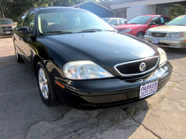 2002 Mercury Sable THE HOME OF THE 299 TOTAL DOWN PAYMENT Visit Parker Auto Sales online at wwwpa