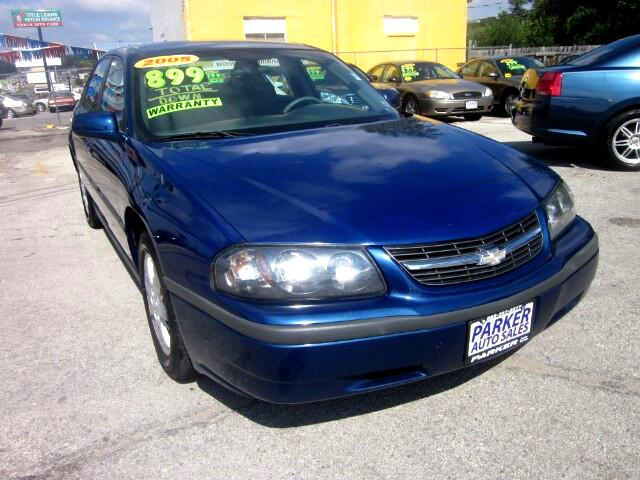 2005 Chevrolet Impala THE HOME OF THE 299 TOTAL DOWN PAYMENT Visit Parker Auto Sales online at www