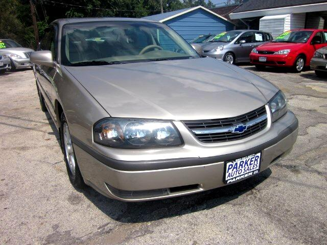 2003 Chevrolet Impala THE HOME OF THE 299 TOTAL DOWN PAYMENT Visit Parker Auto Sales online at www