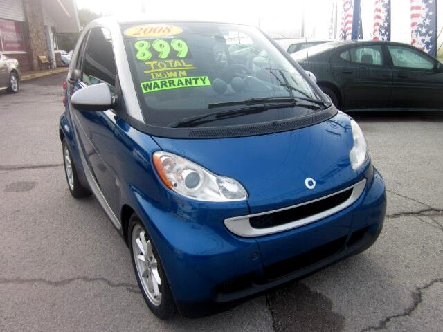 2008 smart Fortwo THE HOME OF THE 299 TOTAL DOWN PAYMENT Visit Parker Auto Sales online at wwwpar