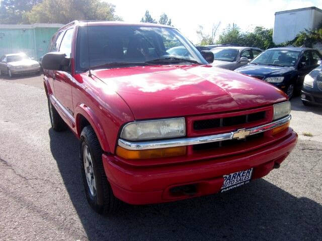 2004 Chevrolet Blazer THE HOME OF THE 299 TOTAL DOWN PAYMENT Visit Parker Auto Sales online at www