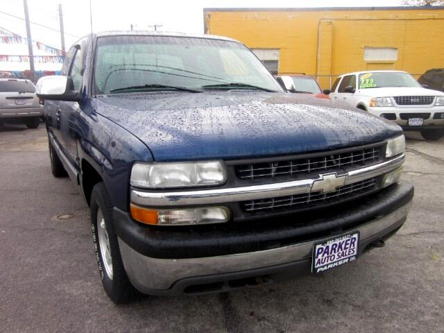 2001 Chevrolet Silverado 1500 THE HOME OF THE 299 TOTAL DOWN PAYMENT Visit Parker Auto Sales onlin