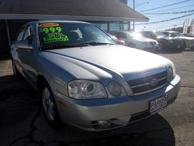 2006 Kia Optima THE HOME OF THE 299 TOTAL DOWN PAYMENT Visit Parker Auto Sales online at wwwparke