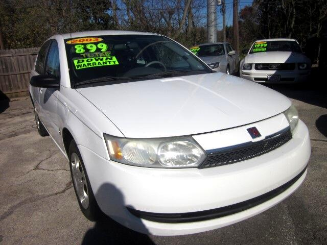 2003 Saturn ION THE HOME OF THE 299 TOTAL DOWN PAYMENT Visit Parker Auto Sales online at wwwparke