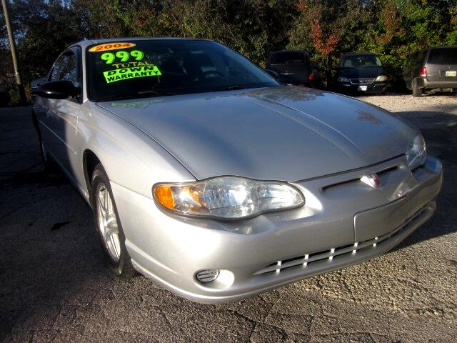 2004 Chevrolet Monte Carlo THE HOME OF THE 299 TOTAL DOWN PAYMENT Visit Parker Auto Sales online a