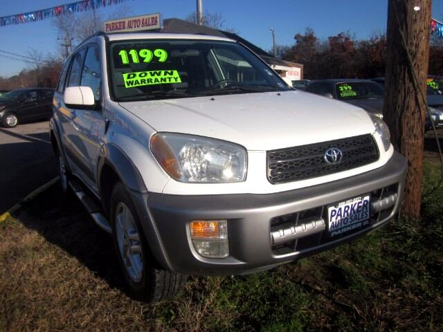 2001 Toyota RAV4 THE HOME OF THE 299 TOTAL DOWN PAYMENT Visit Parker Auto Sales online at wwwpark