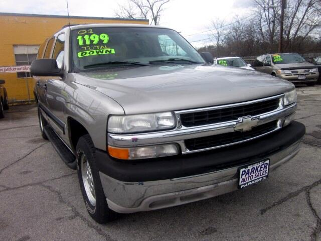 2001 Chevrolet Suburban THE HOME OF THE 299 TOTAL DOWN PAYMENT Visit Parker Auto Sales online at w