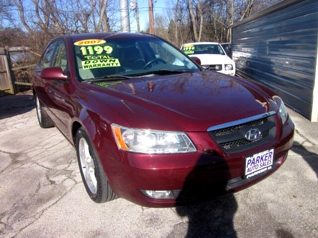 2007 Hyundai Sonata THE HOME OF THE 299 TOTAL DOWN PAYMENT Visit Parker Auto Sales online at wwwp