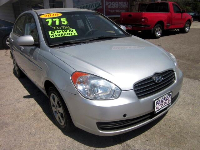 2010 Hyundai Accent THE HOME OF THE 299 TOTAL DOWN PAYMENT Visit Parker Auto Sales online at wwwp