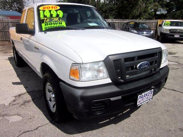 2010 Ford Ranger Super Cab 2-Door 4WD