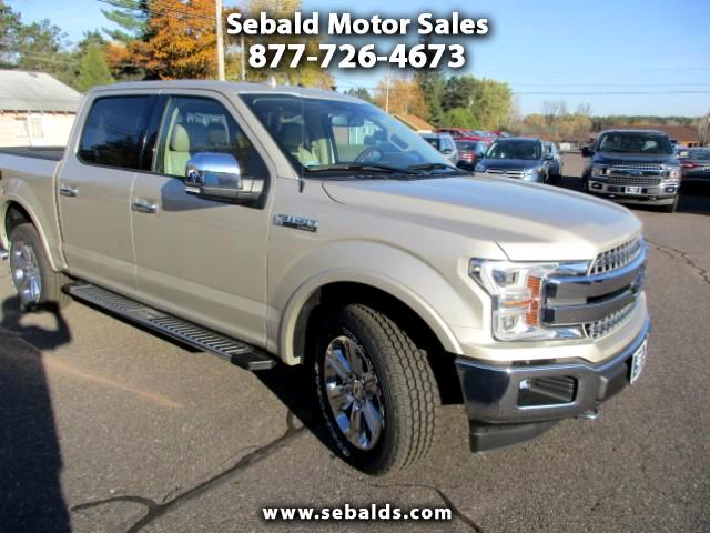 2018 Ford F-150 Lariat SuperCrew 5.5-ft Bed 4WD