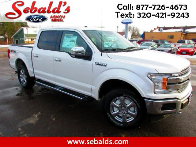 2018 Ford F-150 Lariat SuperCrew 5.5-ft. Bed 2WD