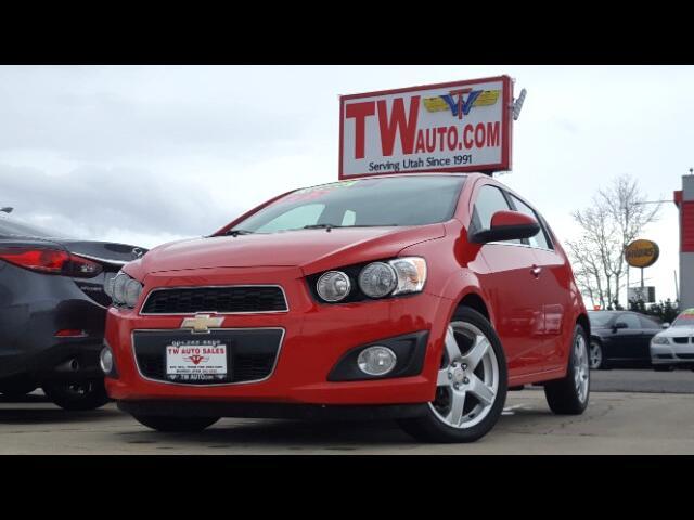 2012 Chevrolet Sonic 1LTZ 5-Door