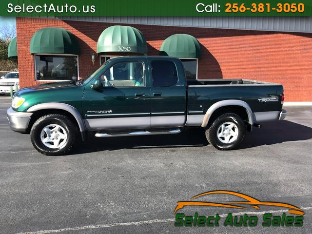 2001 Toyota Tundra Limited Access Cab 4WD
