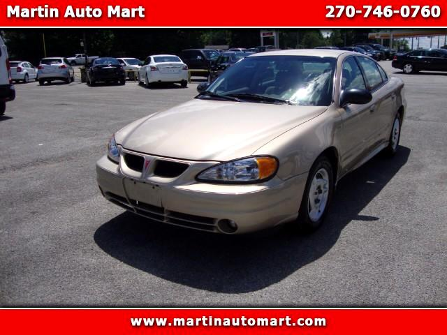 2003 Pontiac Grand Am SE Sedan