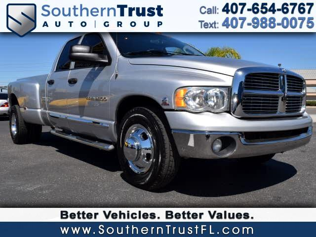 2005 Dodge Ram 3500 SLT Quad Cab Long Bed 2WD DRW