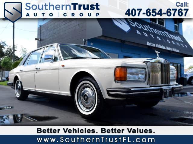 1986 Rolls-Royce Silver Spur Base