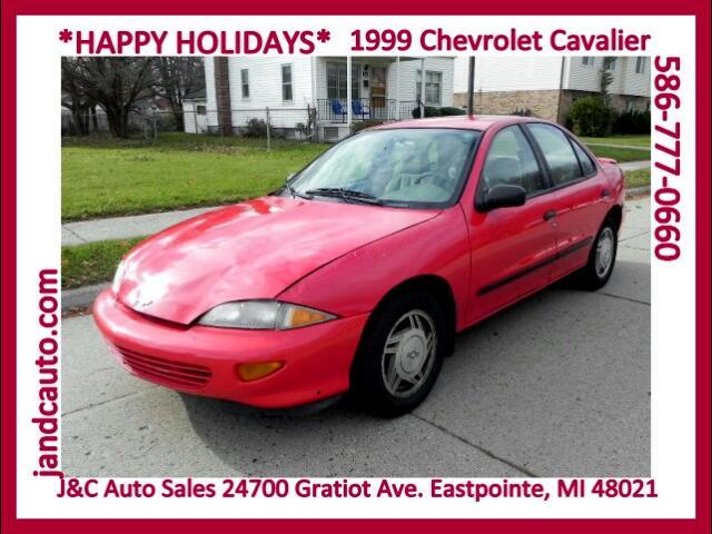 1999 Chevrolet Cavalier LS Sedan