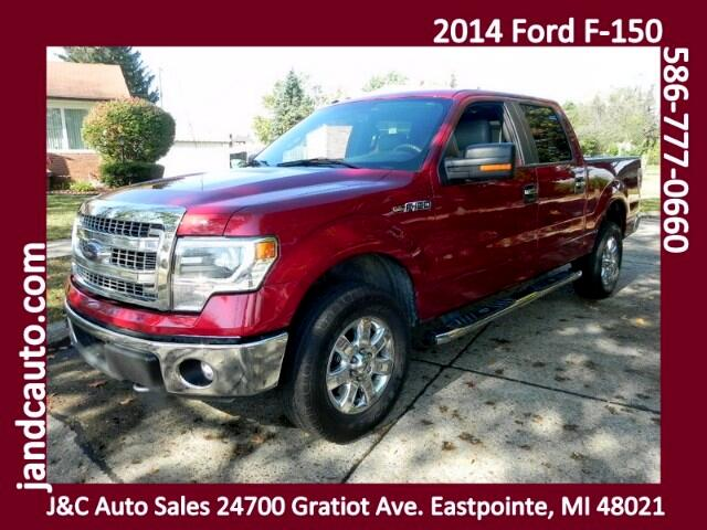 "2014 Ford F-150 4WD SuperCrew 150"" XLT"