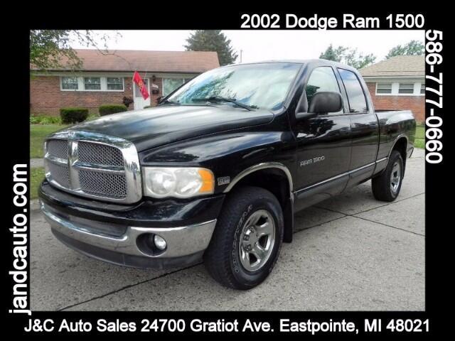 2002 Dodge Ram 1500 ST Quad Cab Short Bed 4WD
