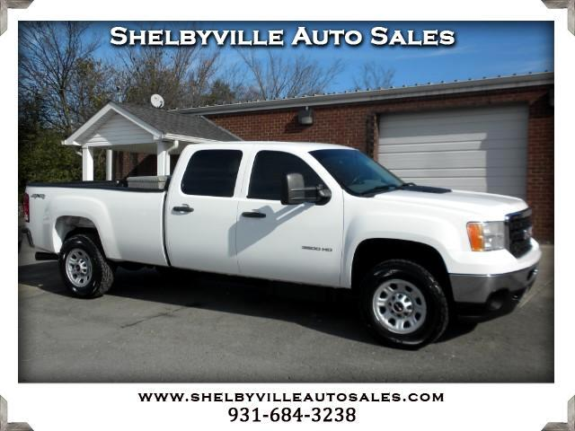 2014 GMC Sierra 3500HD Work Truck Crew Cab Long Box 4WD