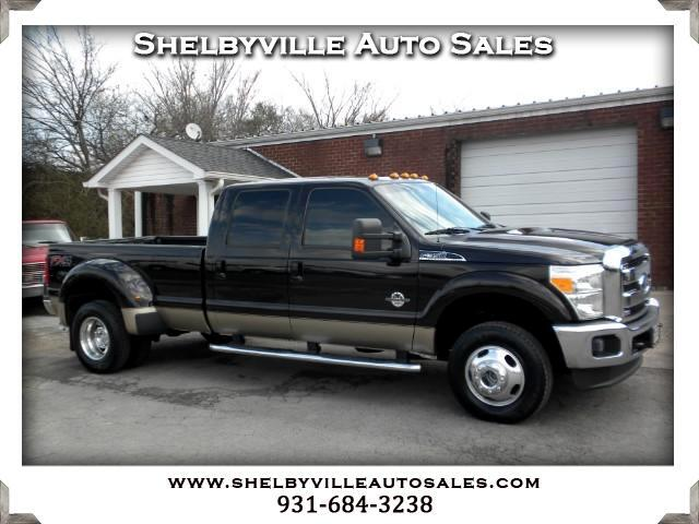 2013 Ford F-350 SD Lariat Crew Cab Long Bed DRW 4WD