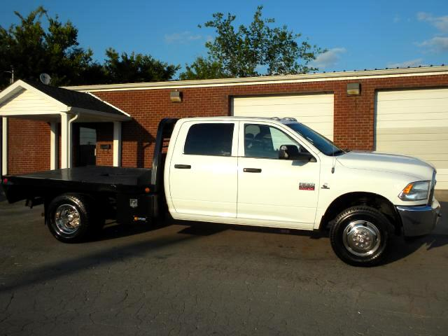 2012 Dodge Ram 3500 SHARP FLATBED 4WD QUAD CAB 1 OWNER CLEAN CARFAX POWER WINDOWS CLEAN TRUCK