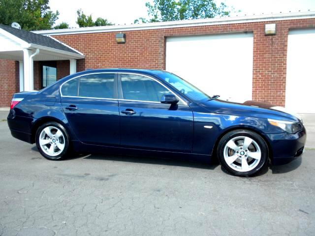 2005 BMW 5-Series WOW SHARP 5 SERIES BMW LEATHER HEATED SEATS SUNROOF NEW TIRES ALL POWER GREAT