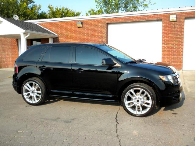 2009 Ford Edge THIS EDGE HAS IT ALL NAV SUNROOF BACK UP SONAR LEATHER REAR ENTERTAINMENT ALL POWER