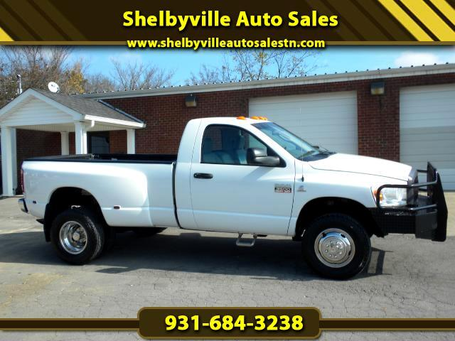 2007 Dodge Ram 3500 HARD TO FIND 6 SPEED MANUAL TRANSMISSION 4WD REG CAB CUSTOM BUMPER CLEAN CAFA
