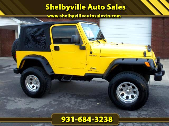 2006 Jeep Wrangler CHECK OUT THIS JEEP 6 SPEED MANUAL TRANSMISION 4WD CLEAN CARFAX NEW TOP GOOD TI
