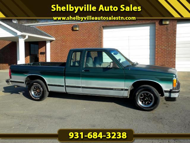 1993 Chevrolet S10 Pickup CHECK OUT THIS PRICED RIGHT EXT CAB V6 CHEVROLET S-10 THIS WOULD MAKE A