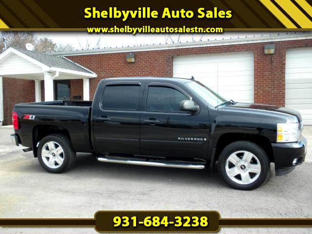 2008 Chevrolet Silverado 1500 CHECK IT OUT LOCAL TRADE CREW CAB 4WD LEATHER GOOD TIRES CLEAN CARFA