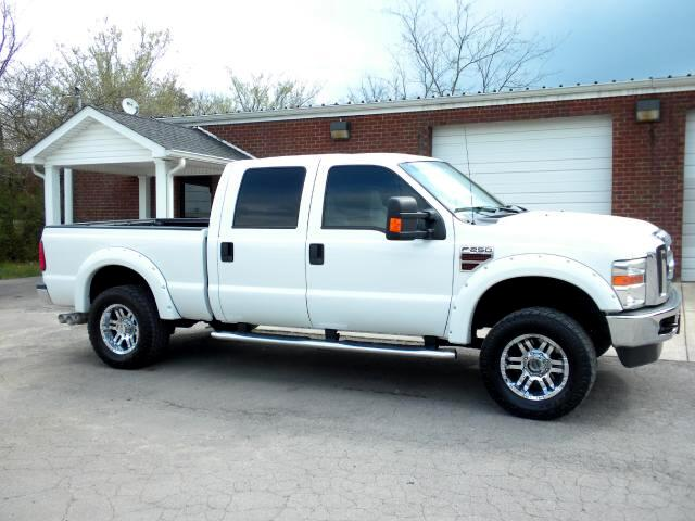 2010 Ford F-250 SD Check out all the extras on this F250 Aftermarket wheels Fender Flares Lariat