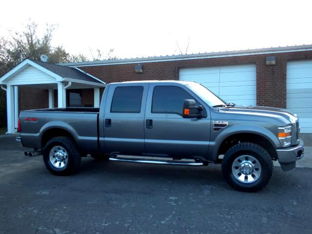 2009 Ford F-250 SD NICE FORD LARAIT 4WD CREW CAB ADJUSTABLE PEDALS LEATHER HEATED SEATS ALL POWER