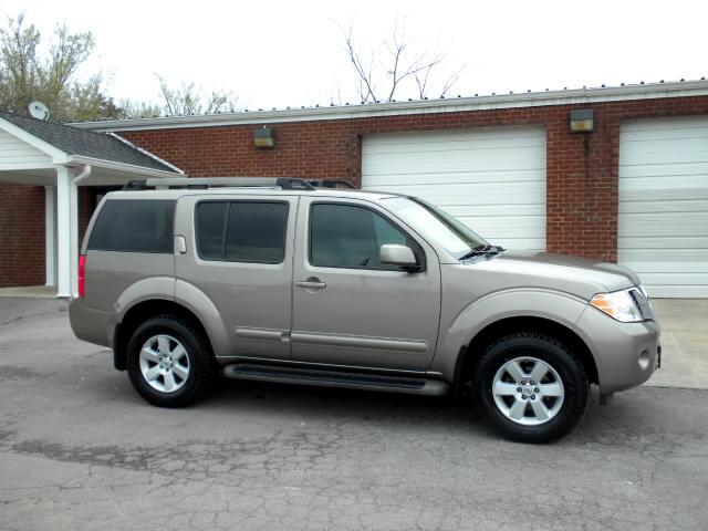2008 Nissan Pathfinder CHECK OUT THIS PATHFINDER 4WD LIKE NEW TIRES ALL POWER LOCAL TRADE NON-SMO