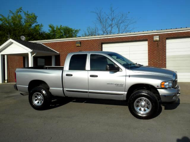 2005 Dodge Ram 2500 CHECK OUT THIS LOW MILEAGE DODGE 4WD QUAD CAB GOOD TIRES ALL POWER CLEAN CAR