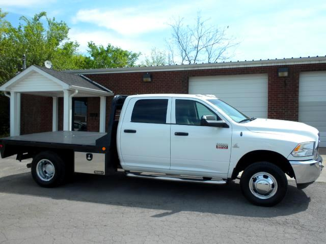 2012 Dodge Ram 3500 CHECK OUT THIS FLATBED 4WD CREW CAB NEW TIRES POWER WINDOWS AND LOCKS THIS